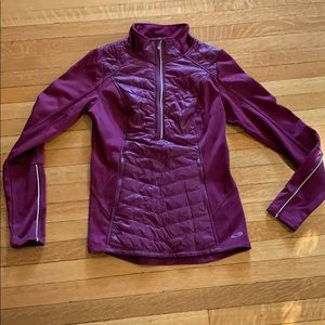 Purple Champion running jacket